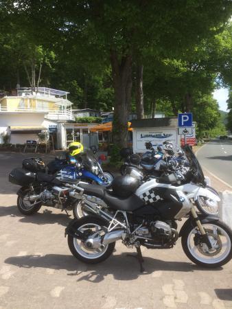 Haus am See: Tussenstop voor Café und Kuche!