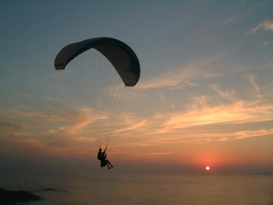 Calcatoggio, Frankrike: parapente corse du sud