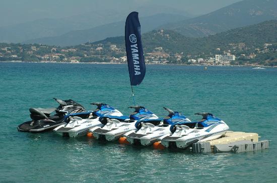 Corsic'adventure: flotte jet ski