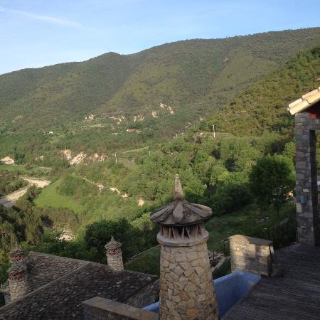 L'Abadia de Sieste : Vistas desde mi ventana