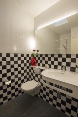 Vezia, Schweiz: uno dei bagni