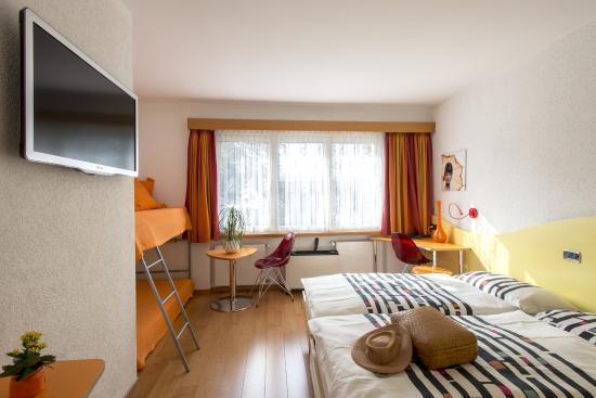 Vezia, Schweiz: una camera familiare