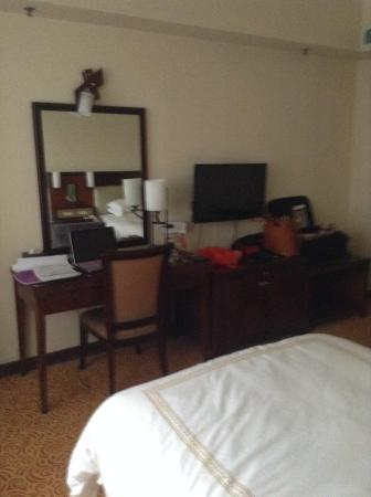 Overseas Chinese Friendship Hotel: Another view of the room!