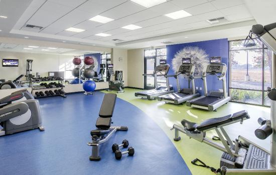 SpringHill Suites Fresno: 24-hour Fitness Center