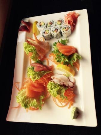 Wasabi Restaurant: Le plateau p4