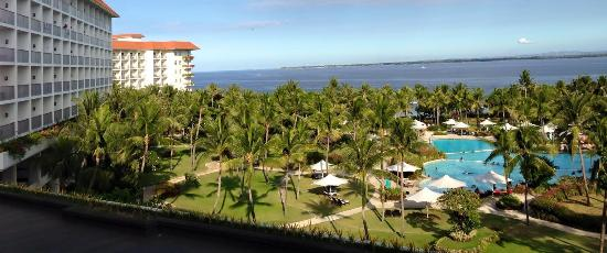 Shangri-La's Mactan Resort & Spa: View from our room