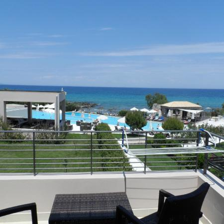 Atlantica Eleon Grand Resort & Spa: The beautiful view from our room