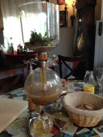 A L'Ange : Bouillon for fois gras