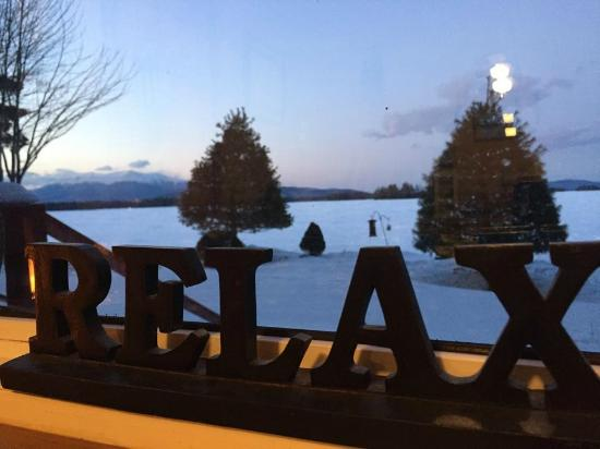 Millinocket, ME: view of spa room