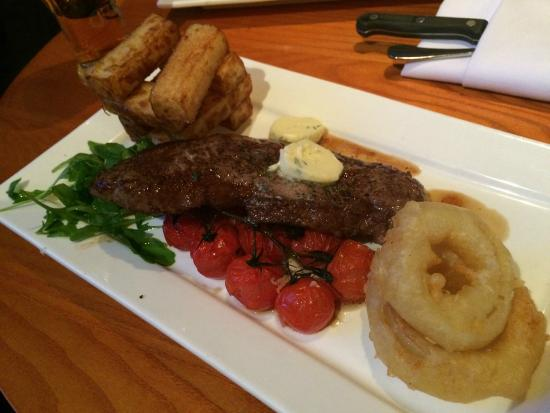 The Swan Hotel : Faultess Steak
