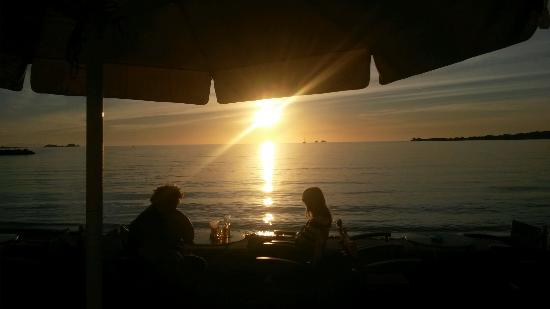 Meltemi Cafe: Sunset time