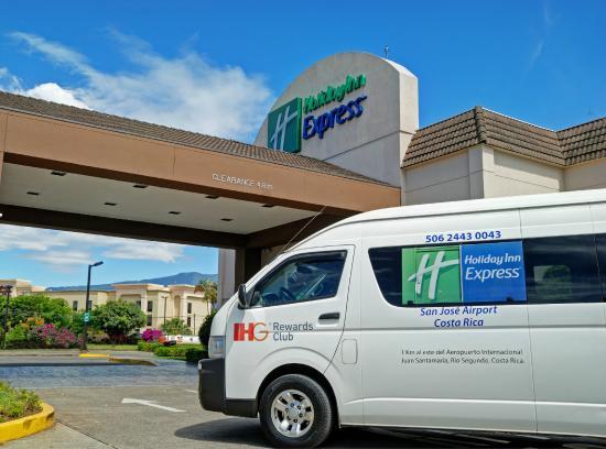 Holiday Inn Express San Jose Airport : Airport Shuttle