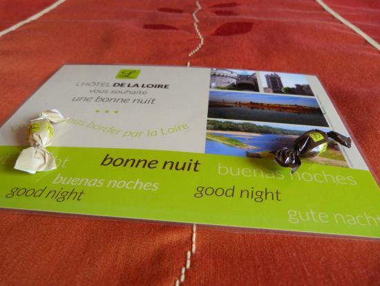 Logis de la Loire : Bonne nuit