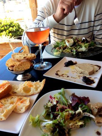 Tapas del Mar : tapas and rose wine