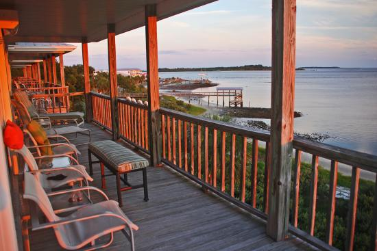 Seahorse Landing: The Balcony #1