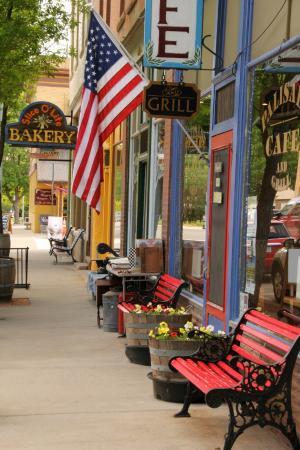 Palisade, Kolorado: Street view