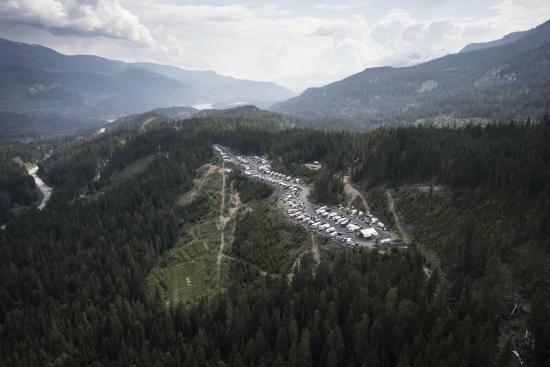 Whistler RV Park & Campgrounds: Aerial View of Whistler RV Park and Campground