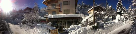 Vidiciatico, Italy: panoramica inverno