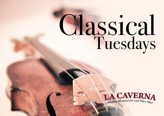 Classical Tuesdays in La Caverna Restaurant