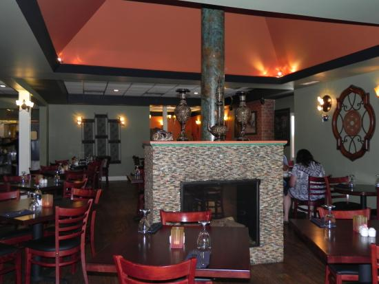 Royal Indian Restaurant: this is the restaurant inside.  It is very nice.