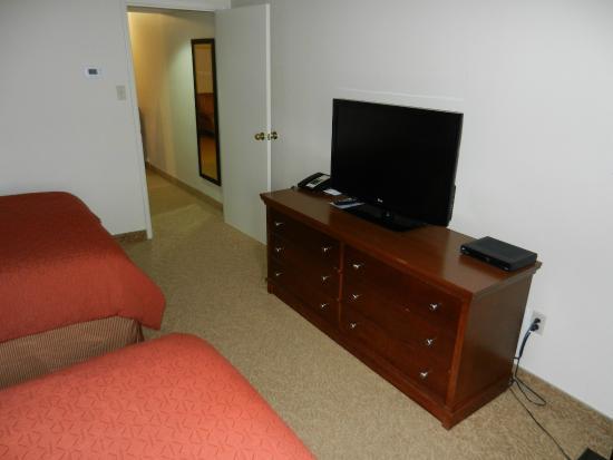 Country Inn & Suites By Carlson, Winnipeg, MB: TV in sleeping area