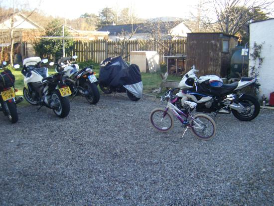 Newtonmore Hostel: Emergency bike