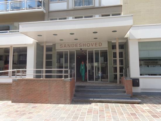 Hotel Sandeshoved : Main entrance