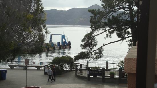 Hotel Sausalito : View from room #206