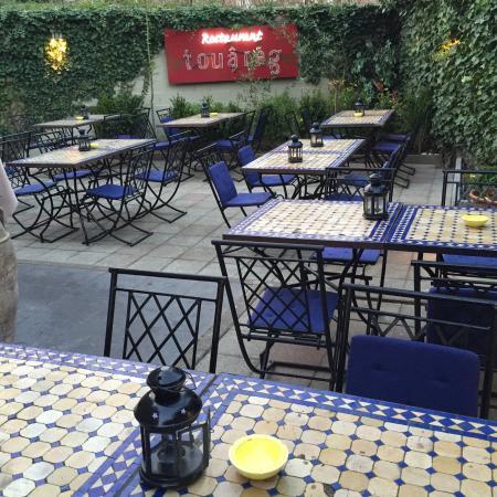 Le touareg bruxelles restaurant avis num ro de - Resto terrasse jardin bruxelles nanterre ...