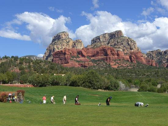 Seven Canyons: Practice facility