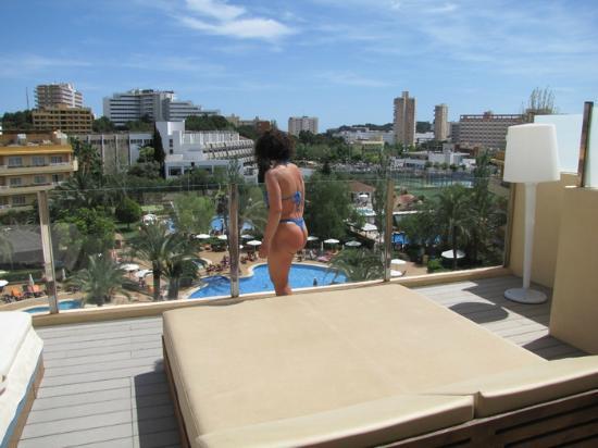Viva Palmanova & Spa: rooftop terrace
