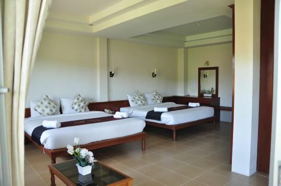 Natural Samui Hotel: Семейный номер