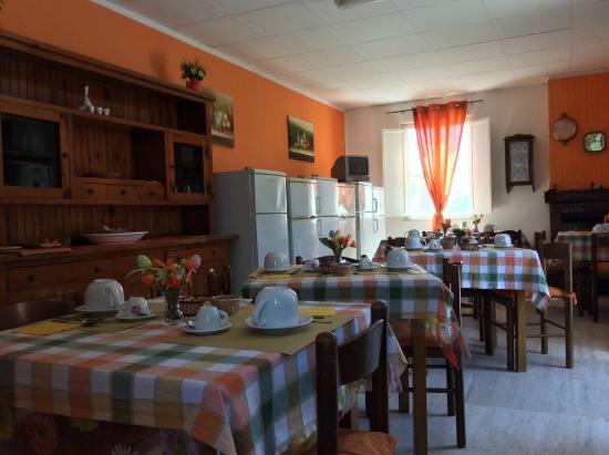 Agriturismo Santa Lucia : La sala comune Arancio