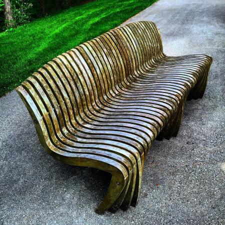 Jenkins Arboretum and Garden: Plenty of comfortable seating