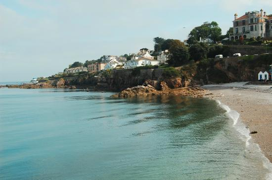 Waverley B&B : Beach opposite Salcombe harbour