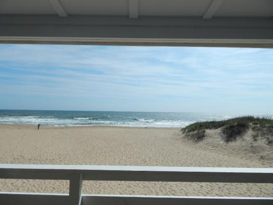 Outer Banks Motor Lodge : view from our deck