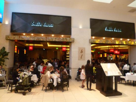 Just Outside Of Bella Luna At Aventura Mall In Miami Picture Of