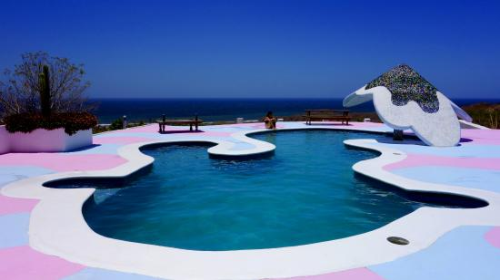 Las Salinas, Никарагуа: Poolside- it is every bit beautiful as it looks