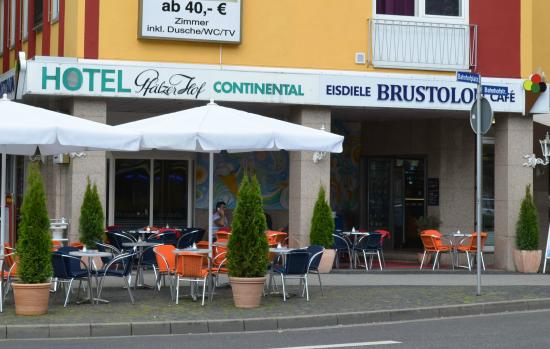 Eiscafé Brustolon am Bahnhofplatz