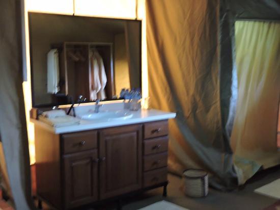 Sametu Camp: The bathroom