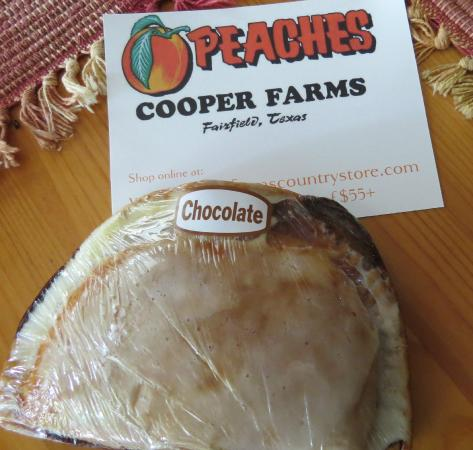 Fairfield, TX: the last chocolate pie :(