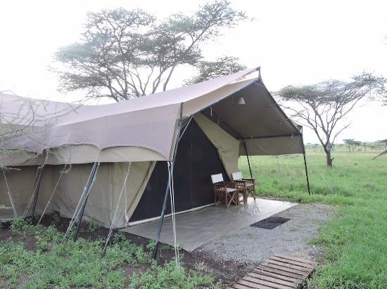 Sametu Camp: Our room...tent #1