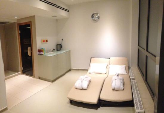 Design Hotel Josef Prague: Sauna area