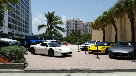 Ocean Drive Exotic Cars: Maserati We Rented Is On The Right