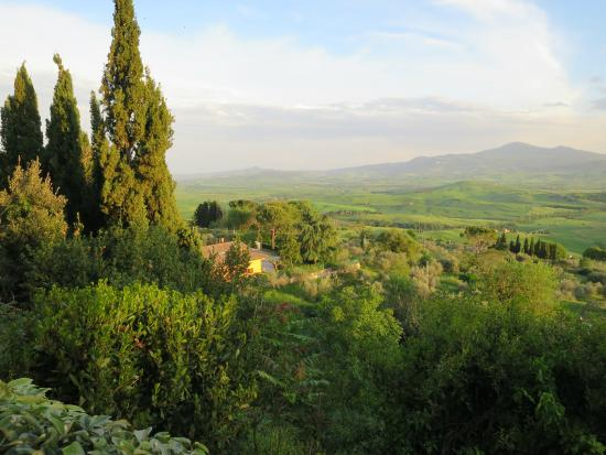 view from our garden table - Picture of Terrazza Val D\'Orcia ...