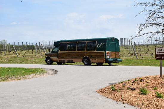 Celtic Winery Tours : Shuttle @ 45 North