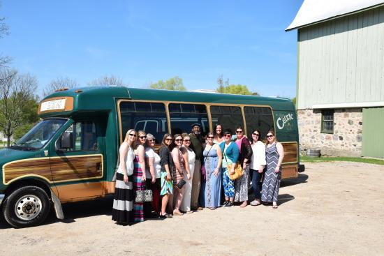 Celtic Winery Tours : the group with Fred @ Shady Lane
