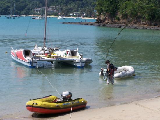 Andaman Sea Club Sailing Charters: Départ de la croisière sur Le sea horse