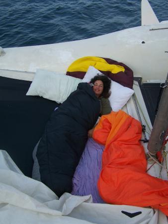 Andaman Sea Club Sailing Charters: Sonia au réveil après la nuit à la belle