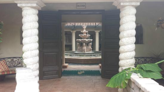 Hippocrates Health Institute: Beautiful fountain